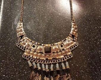 Egyptian Pharoh Style Necklace