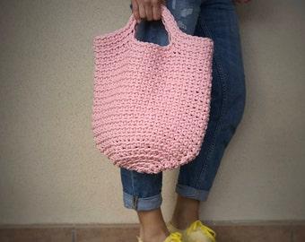 Handcrafted crohet handbag