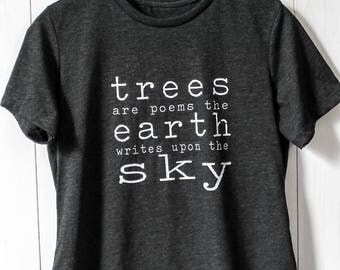 trees are poems tee