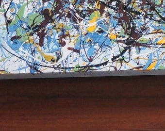 """48"""" x 72"""" XX-large abstract painting"""