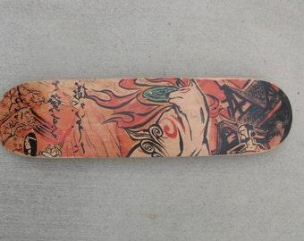 Okami Skateboard Deck