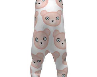 Teddy Bear Romper - Rupydetequila Cute Fabric Kids Collection