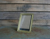Gold Vintage Ornate Metal Filigree Shabby Chic Picture Frame