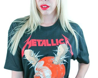 Vintage Metallica Shirt 2007 Band Tee Rocker Metal Shirt Metal Tee Slayer Black Sabbath Megadeth Dio Danzig Iron Maiden Judas Priest