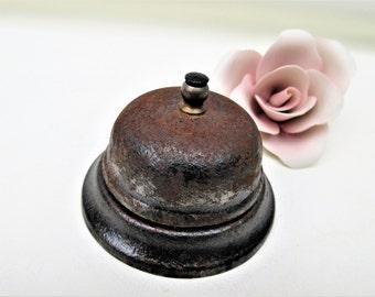 Vintage Metal Bell | Hotel Bell | Service Bell | Counter Top Shop Bell | Desk Bell