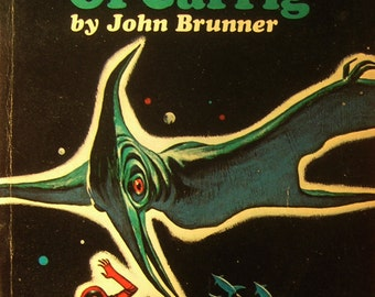 The Avengers of Carrig - Sci Fi by John Brunner - Classic Science Fiction / Futuristic Space Novel