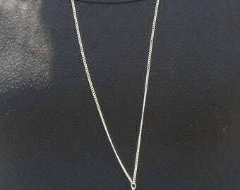 Beaded Tassel Necklace, Tassel Pendant Necklace, Turquoise Tassel, Nepal, Chain with Tassel Pendant