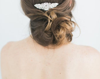 Bridal Hair Comb- Art Deco Style Bridal Rhinestone Crystal Hair Comb Hair Comb wedding hair comb