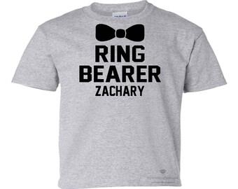 RING BEARER SHIRT. Ring Bearer Tee. Ring Bearer Gift. Wedding Shirt. Ring Security. Wedding Rehearsal Shirt. Wedding Ring Shirt. Ring Bearer