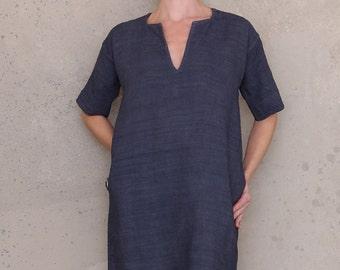 Women Sewing Pattern, Linen Dress Pattern, Tunic Dress Pattern, PDF Dress Pattern, Womens Pattern, Boho Dress Pattern, Fashion Pattern