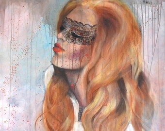 """""""Aphrodite"""" fashion art painting"""