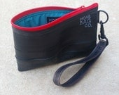 Recycled Clutch - Recycled Bike Tube Purse - Sustainable Bags for Women