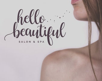 Modern Salon Premade Logo Design