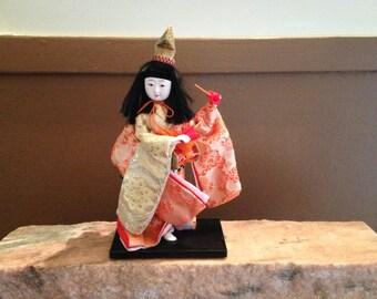 Japanese  Doll Drummer