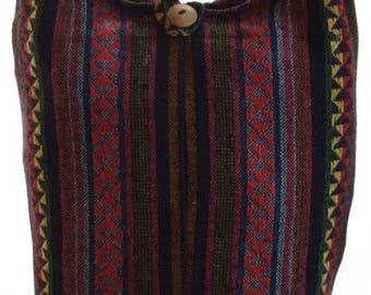 Woven cotton Boho shoulder bag, Messenger, Hippie, Gypsy, Sling, Hippy, Hobo, Crossbody, Monk