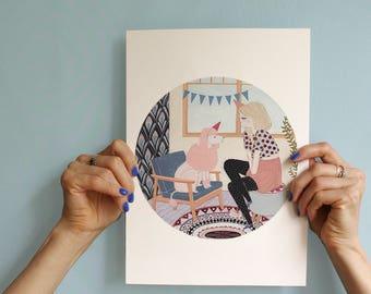"Artprint ""Birthday'"