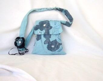 Boho shabby purse/ Recycled bags/ Romantic shoulder bag/ Evening purse/ Handmade bag/ OOAK bag/ Fabric purse/ Pocketbook/ Girls bag