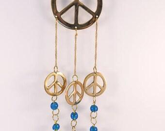 Superb Peace sign Hanging Bells.