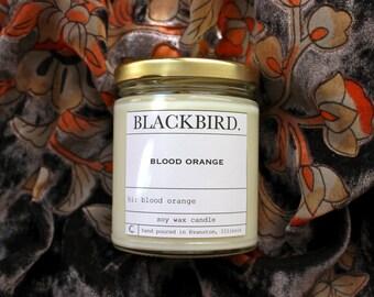 blood orange | soy candle
