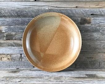 """Vintage Iron Mountain Stoneware White Top 12"""" Platter, Iron Mountain Stoneware, Iron Mountain Pottery"""