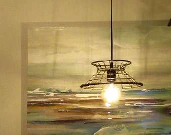 Pulley light fixture