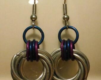 Mobius Ball Earrings