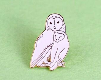 Owl Family Soft Enamel Pin