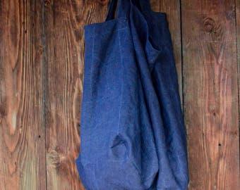 Huge Linen Tote Bag/Large Shopper Bag