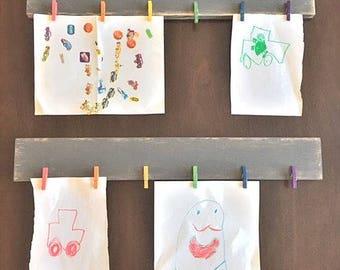 Every Child is an Artist - Artwork Display - Child Artwork Display - Kids Artwork Display -  Kids Art Display - Playroom Decor - Kids Art