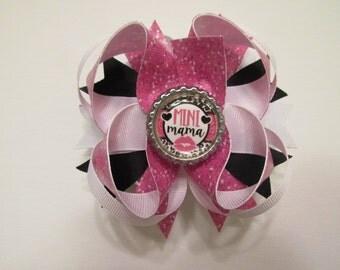 Mini Mama bottle cap bow