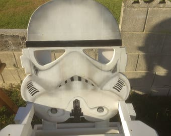 Star Wars Furniture,  StormTrooper Storm Trooper Deck Chair  Camping Chair Adirondack Chair Lawn Chair