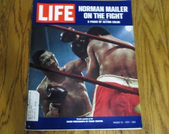 Life Magazine-The Ali-Farzier Fight, March 19.1971