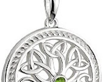 Solvar Sterling Silver Tree of Life Pendant