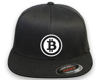 BITCOIN P2P Flex Fit Hat **CURVED Bill**  ***Free Shipping in BOX***