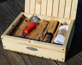 Oyster Shucking Kit, Raw Oysters on the Half Shell Gift, Fabulous Gift for a Special Oyster Lover! Wonderful Wedding Gift!