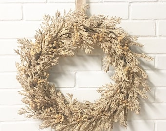 Summer Wreath, Rustic Summer Wreath, Wreath For Door,Rustic Wreath, Spring Door Wreath, Wedding Wreath, Farmhouse Wreath, Home Decor