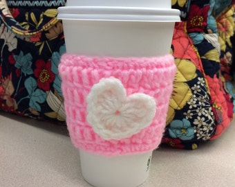 Heart Coffee To-Go Cup Sleeve