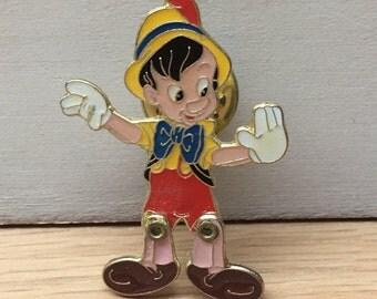 Pinocchio Pin Brooch