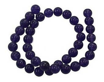 Natural pearls of amethyst 6mm 65