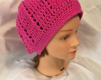 Pink slouchy