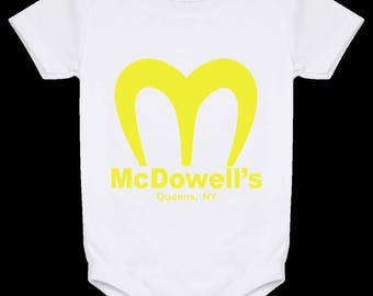 Coming To America McDowell's - Baby Onesie 24 Month