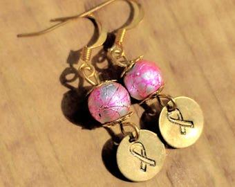 Awareness earrings