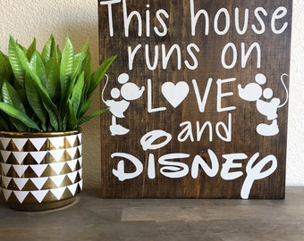 This house runs on love and disney