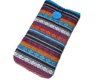 iPhone 7 case, iPhone SE Sleeve, iPhone 6 Plus Pouch, iPhone 7 Plus Case, iphone 5 case, Protective case iphone, ipod, Ethnic, stripes