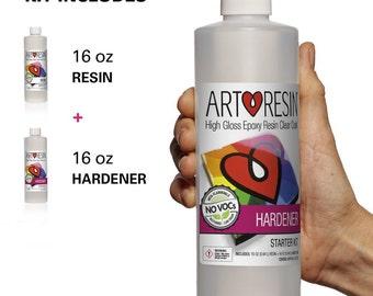 ArtResin 946ml/32oz Clear Non-toxic ArtResin® Epoxy Resin Starter Kit