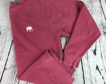 Elephant comfort colors sweatshirt, Gameday sweatshirt, Elephant sweatshirt