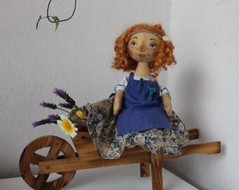 Doll tilda hippie