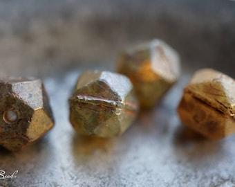 English Cut, Czech Beads, Beads
