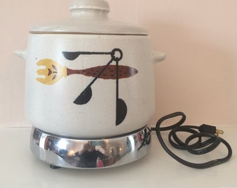 Westinghouse beanpot with hot plate  1970 new old stock