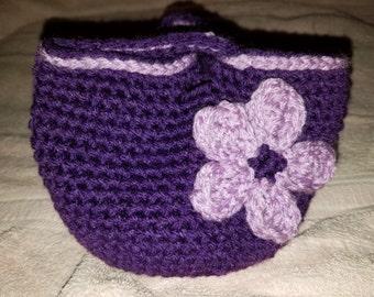 Crochet Wristlet Purse